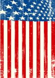 Американский пакостный флаг Стоковая Фотография RF