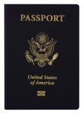 американский пасспорт Стоковое фото RF
