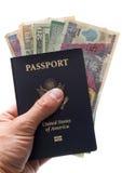американский пасспорт Стоковое Фото