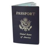 американский пасспорт Стоковое Изображение