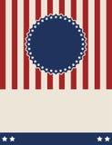Американский патриотический винтажный дизайн предпосылки стиля бесплатная иллюстрация