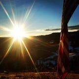 американский патриот Стоковая Фотография RF