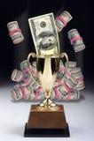Американский победитель денег стоковое фото rf
