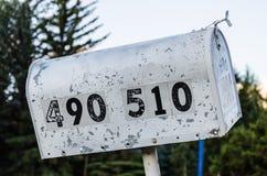 американский почтовый ящик Стоковые Фото