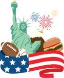 Американский праздник Стоковая Фотография