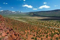 американский пустой зюйдвест хайвея 2 Стоковое Изображение RF