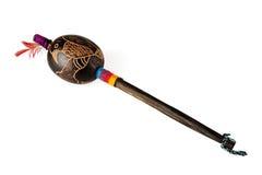 американский родной инструмент shaman Стоковая Фотография