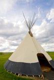 американский родной teepee Стоковые Фотографии RF