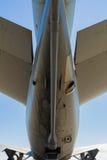 Американский самолет двигателя разбивателя KC-10 Стоковое фото RF