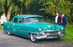 американский сбор винограда gal выставки автомобиля Стоковое Изображение RF