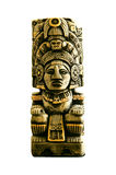 американский стародедовский индийский totem Стоковые Изображения RF
