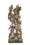 американский стародедовский индийский totem Стоковое фото RF