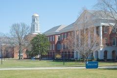 американский университет Стоковая Фотография