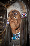 американский уроженец маски Стоковое Изображение RF