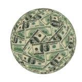 американский финансовохозяйственный мир Стоковое Изображение
