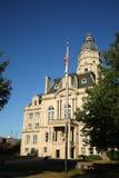 американский флаг здания суда Стоковая Фотография RF