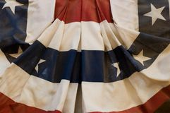 американский флаг исторический Стоковые Фотографии RF