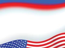 американский флаг предпосылки Стоковые Фотографии RF