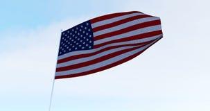 американский флаг США акции видеоматериалы