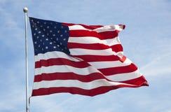 американский флаг 012 Стоковое фото RF