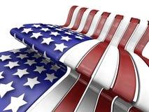 американский флаг Стоковое фото RF