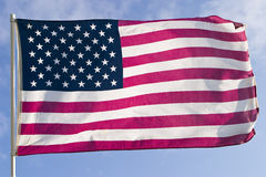 американский флаг Стоковое Изображение RF