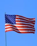 американский флаг Стоковые Изображения