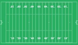 американский футбол поля предпосылки вектор экрана иллюстрации 10 eps Стоковое Изображение