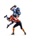 американский футболист Стоковое фото RF