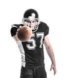 американский футболист стоковая фотография