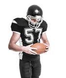 американский футболист стоковые изображения