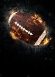 американский футбол предпосылки Стоковое Изображение