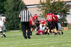 Американский футбол средней школы Стоковая Фотография RF