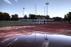 американский футбольный стадион Стоковое фото RF