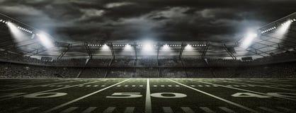 Американский футбольный стадион стоковое изображение