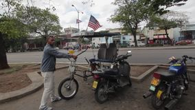 Американский флаг в Havan, Кубе
