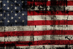 американский флаг Стоковые Фото