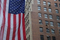 американский флаг Стоковые Изображения RF