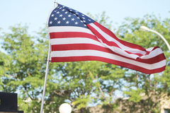 американский флаг Стоковая Фотография