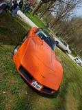Американский хвостоколовый Корвета автомобиля мышцы стоковое изображение rf