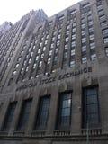 американский шток обменом здания Стоковое Изображение