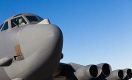 Американский двигатель бомбардировщика B-52 Стоковая Фотография RF