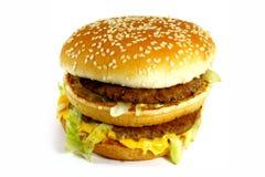 американский cheeseburger стоковое изображение