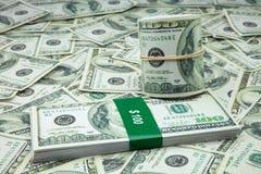 100 американских долларов Стоковое фото RF