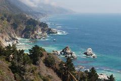 Американское западное побережье стоковое фото