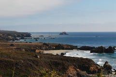Американское западное побережье стоковое изображение rf