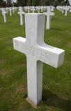 Американское кладбище войны - Somme - Франция Стоковые Изображения RF