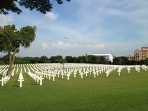 Американское кладбище, Манила, Филиппины Стоковое фото RF