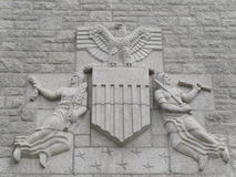 Американское кладбище St James Франция Стоковая Фотография RF