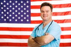 американское медицинское соревнование Стоковое Изображение